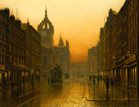 Saint Giles Cathedral, Louis Grimshaw (20X26)