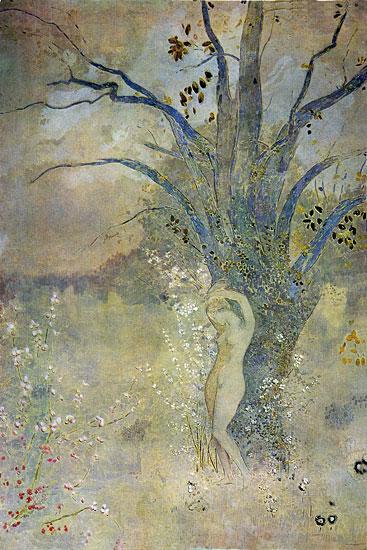 La Printemps, Odilon Redon (16X24)
