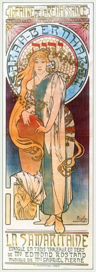 La Samaritaine, Alphonse Mucha (12.1X34)