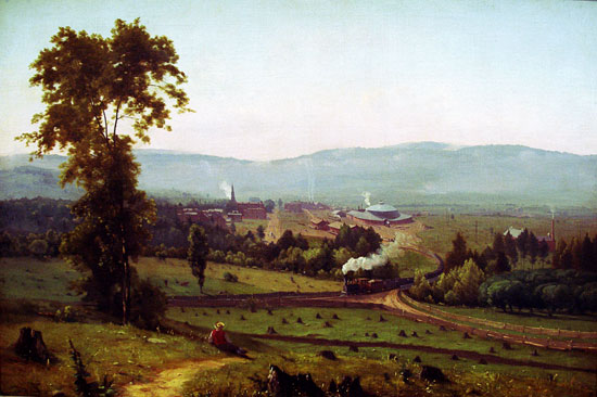 Lackawanna Valley, George Inness (22X33)
