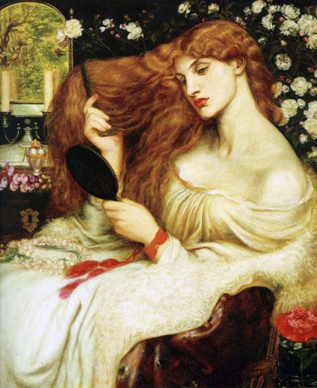 Lady Lilith, Dante Gabriel Rossetti (18X22)
