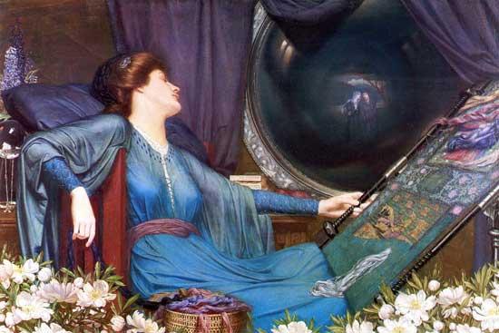 Lady of Shalott, I Am Half Sick of Shadows, Meteyard (16X24)
