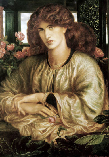 The Lady at the Window, Dante Gabriel Rossetti (22X31.5)