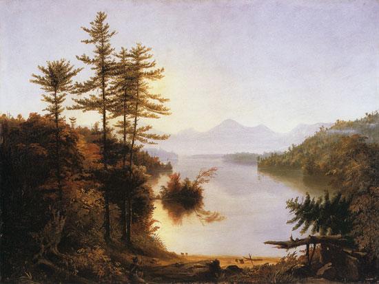 Lake Winnipiseogee, Cole(24X32)