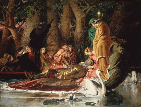 Lamentation of King Arthur, Bell (22X29)