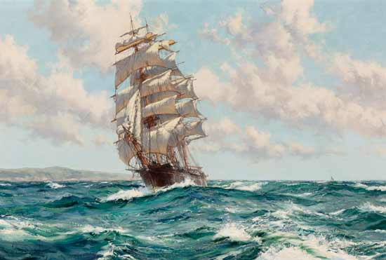Land Ho, Clippership North America, Dawson (23X34)