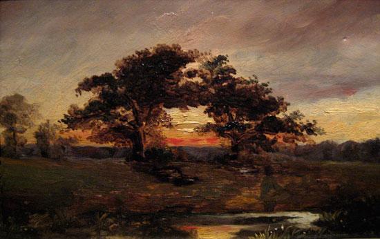 Landscape, Johan Barthold Jongkind (16X25.5)