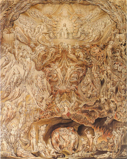 The Last Judgement, William Blake (16X20)