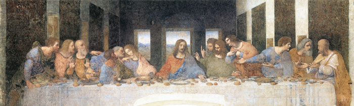 The Last Supper, Leonardo da Vinci (16X53)