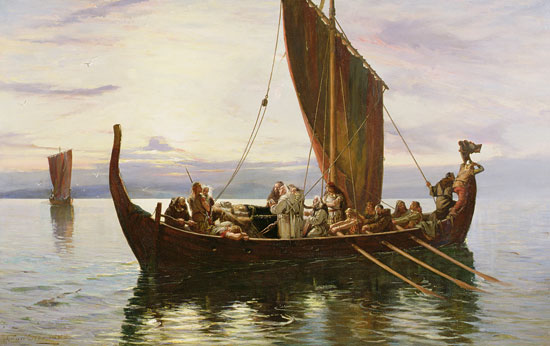 The Last Voyage of the Viking, Robert Gibb