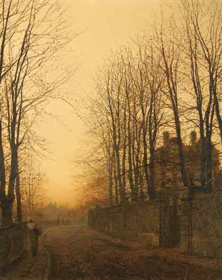 Late Autumn, John Atkinson Grimshaw