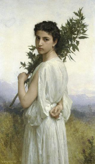 The Laurel Branch, William-Adolphe Bouguereau