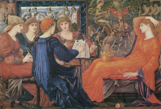 Laus Veneris, Burne Jones (16X23.5)