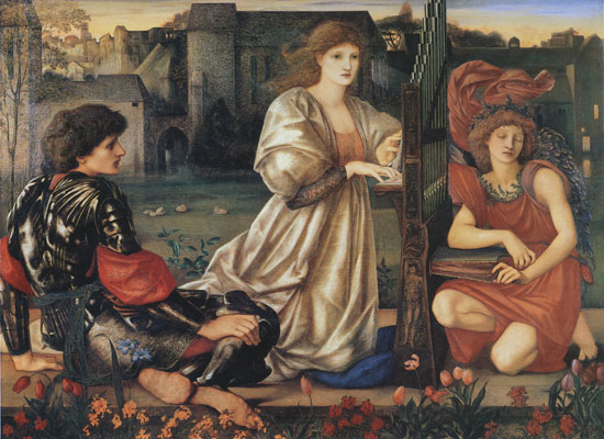 Le Chant D'Amore, Edward Burne-Jones   , Edward Burne-Jones