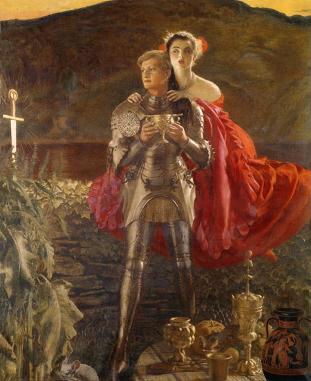 The Legend of Sir Perceval, Cowper (18X22)
