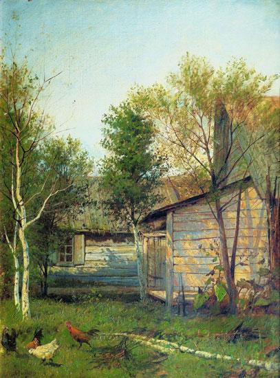 Sunny Day, Isaac Levitan