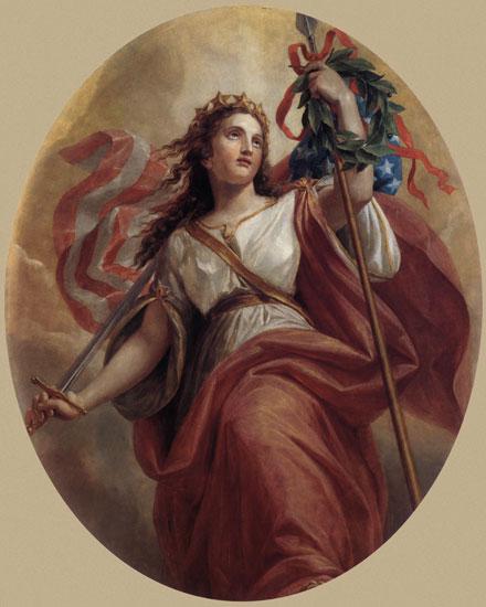 Liberty, Brumidi (16X20)