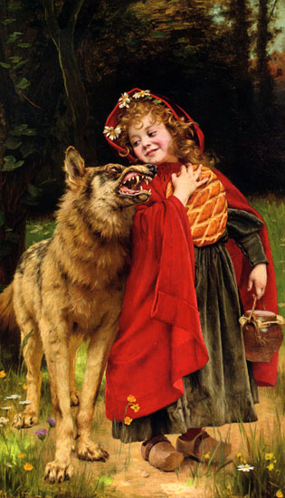 Little Red Ridinghood, Gabriel Ferrier