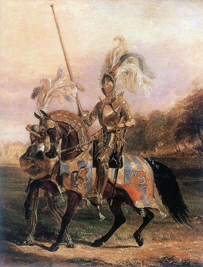 Lord of the Tournament, Edward Henry Corbould