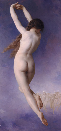 Lost Pleiad, William-Adolphe Bouguereau