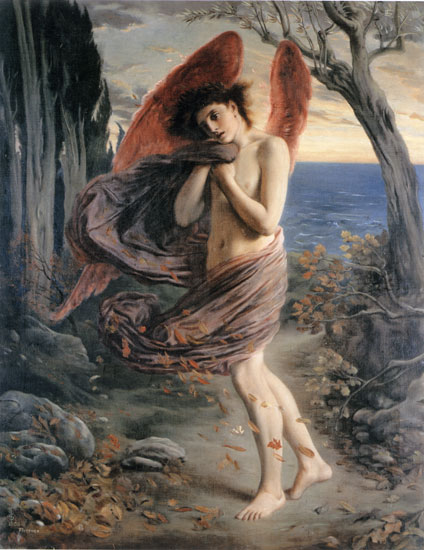 Love in Autumn , Simeon Solomon