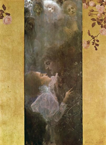 Love, Gustav Klimt (22X30)