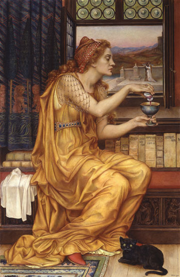 The Love Potion, Evelyn De Morgan