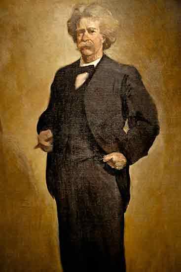 Mark Twain (Samuel Clemens), John White Alexander