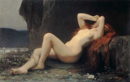 Mary Magdalene in the Grotto, Jules-Joseph Lefebvre