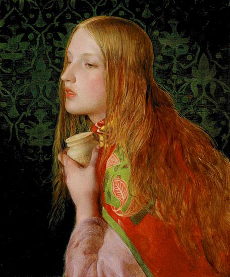 Mary Magdelene, Fredric Sandys (18.25X22)