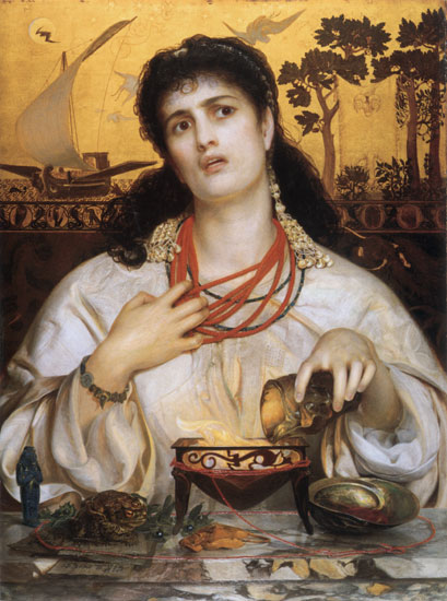 Medea, Fredrick Sandys (16X21.5)