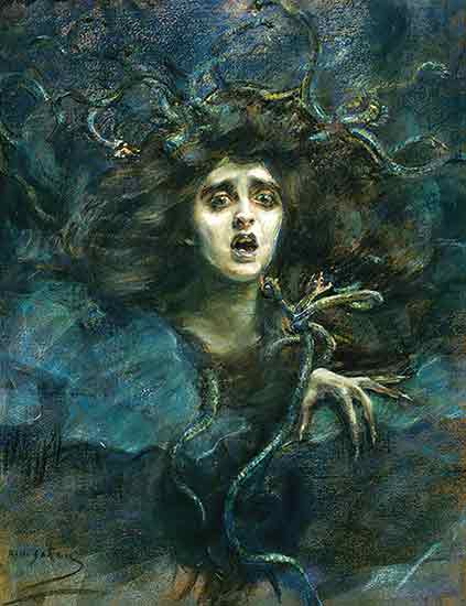 Medusa, Alice Pike Barney