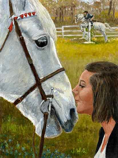 Shala and Sage, Memories, Joyce Gibson