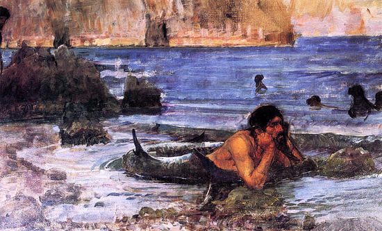 Merman, Waterhouse (13.3X22)