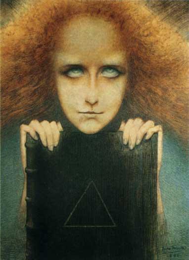Madame Stuart Merrill, Delville (8X11)