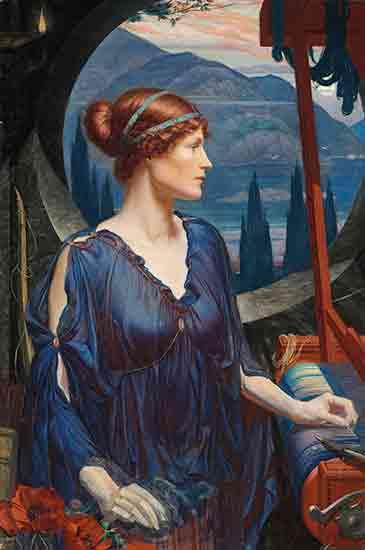 Meteyard Penelope at her Loom, Meteyard