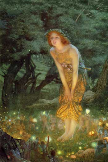 Midsummer's Eve ,  Edward Robert Hughes