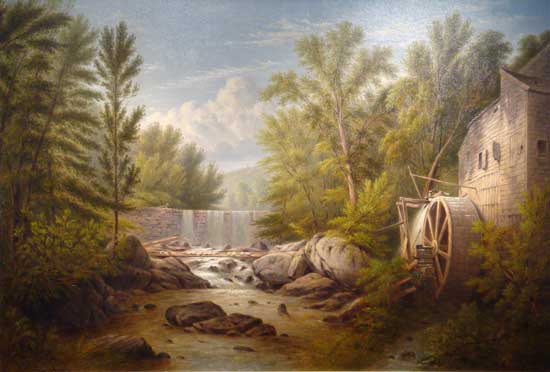 Sleepy Hollow, Carls Mill, Miller (23x34)