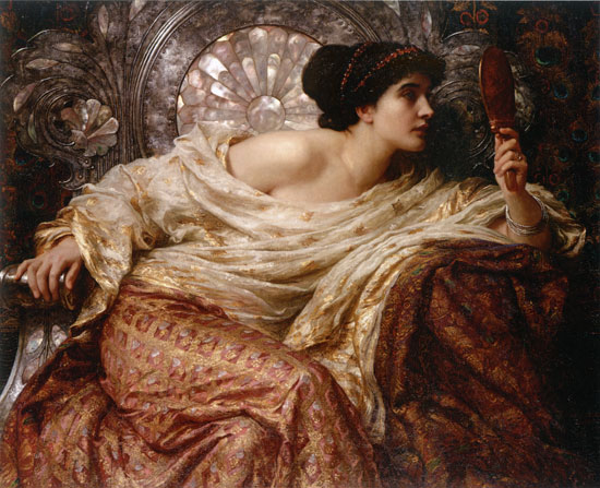 The Mirror, Sir Frank Dicksee