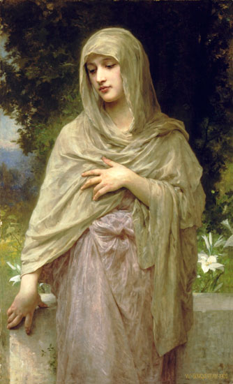 Modesty, William Bouguereau