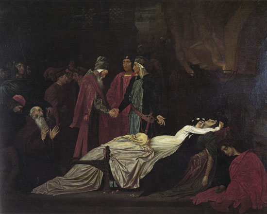 Romeo and Juliet, Leighton (16X20)