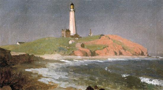 Montauk Lighthouse, Sanford Robinson Gifford (16.5X30)