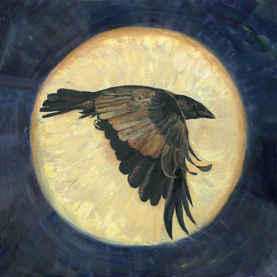 Moonshadow,  Joyce Gibson (18X18)