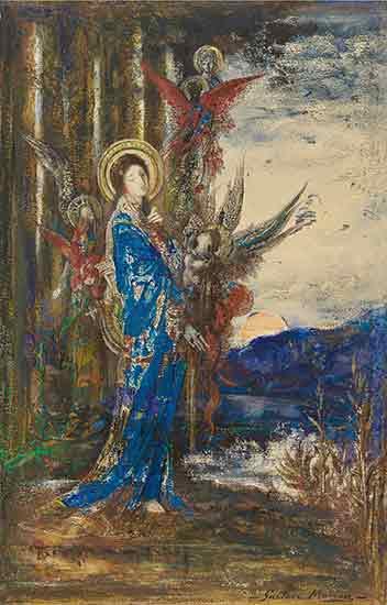 Les Epreuves, Gustave Moreau