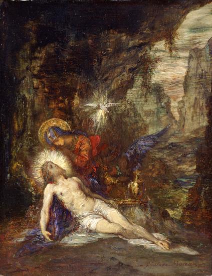 Pieta,1876, Moreau (22X28.6)