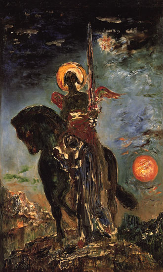 Angel of Death, Gustave Moreau