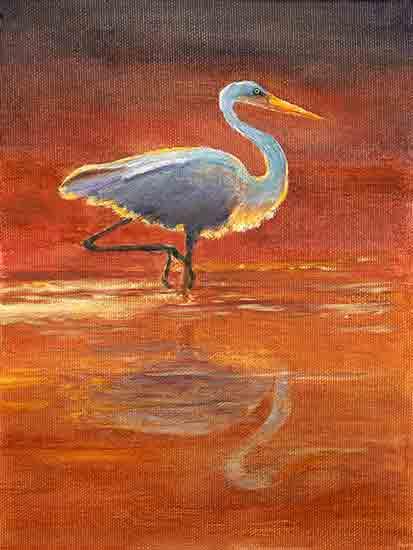 Morning Egret, Joyce Gibson