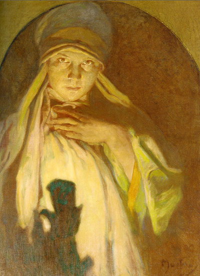 The Enchantress, Alphonse Mucha
