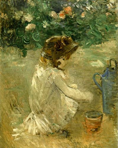Mud Pie, Berthe Morisot (16X20)