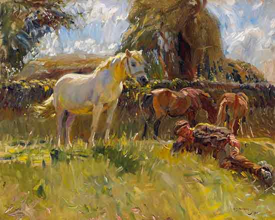 The Old Grey Mare, Sir Alfred Munnings